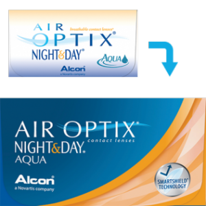 Air Optix Night and Day (6 lenti)