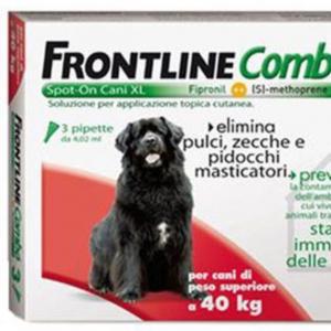FRONTLINE COMBO CANE spot-on 40 - 60 KG MERIAL  conf.3PIP