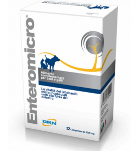 ENTEROMICRO COMPLEX INTEGRATORE VETERINARIO 32 COMPRESSE