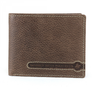 Man wallet Beverly Hills Polo Club  TUCSON BH-393 MORO