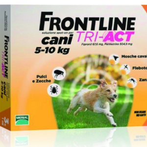FRONTLINE TRI-ACT SPOT-ON CANI 5 - 10 KG MERIAL  conf.3PIP