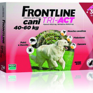 FRONTLINE TRI-ACT SPOT-ON CANI 40-60 KG MERIAL  conf.3PIP