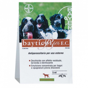 BAYTICOL 6% BAYER  conf.5 ML