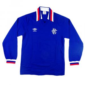 1978-82 Rangers Maglia Home #8 M  (Top)