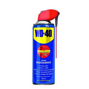 WD-40 12210 Lubricant, Anticorrosive and Unlockable, Transparent, 500 ml