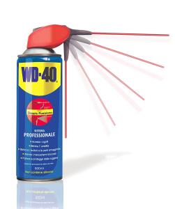 WD-40 12210 Lubrificante, Anticorrosivo e Sbloccante, Trasparente, 500 ml