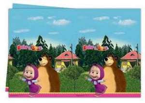 Masha e Orso tovaglia festa 120x180 cm