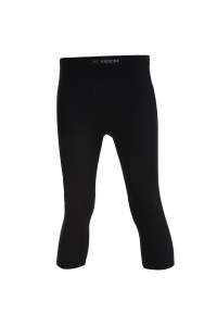 PANTALONI TRE QUARTI PANTA AIR TECH X-TECH COLORE NERO
