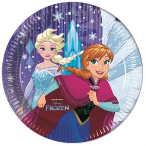 Frozen Snowflakes piatti festa 23 cm