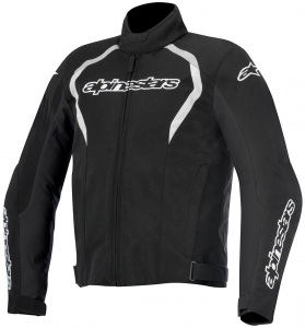 GIACCA MOTO ALPINESTARS FASTBACK WATERPROOF BLACK WHITE
