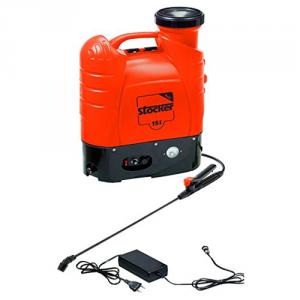 Pompa a spalla Elettrica 15 lt Stocker batteria a litio