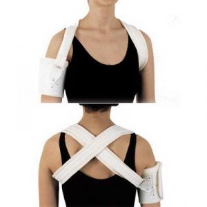 Shoulder brace for hemiplegics