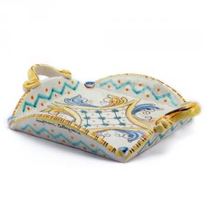 Portatovaglioli in ceramica quadro Ceramiche Caltagirone