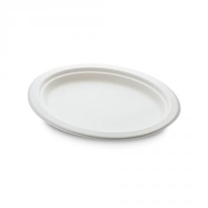 Piatti ovali cellulosa bio medio 26cm