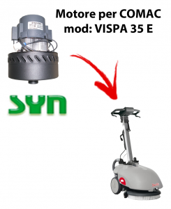 VISPA 35 E Vacuum motor SY N for scrubber dryer Comac