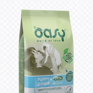 OASY DOG PUPPY JUNIOR MEDIUM 3 KG