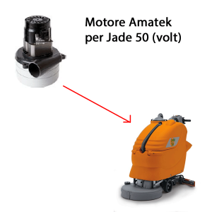 Jade 50 24 volt. Vacuum motors for scrubber dryer Adiatek