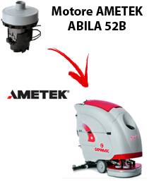ABILA 52B Vacuum motors AMETEK for scrubber dryer Comac