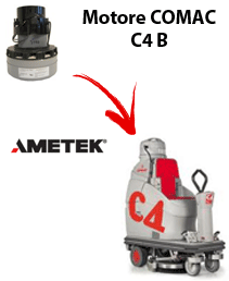 C4 B Vacuum motors AMETEK for scrubber dryer Comac