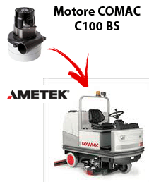 C100 BS Vacuum motors AMETEK for scrubber dryer Comac