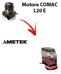 L20 E  Vacuum motors AMETEK for scrubber dryer Comac