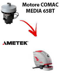 MEDIA 65BT Vacuum motors AMETEK for scrubber dryer Comac
