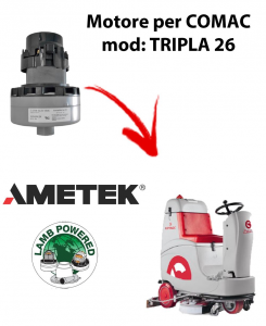 TRIPLA 26 Ametek Vacuum Motor for scrubber dryer Comac