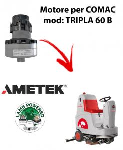 TRIPLA 60B Ametek Vacuum Motor for scrubber dryer Comac