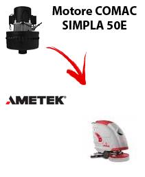 SIMPLA 50E Vacuum motors AMETEK for scrubber dryer Comac