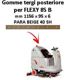 FLEXY 85 B Back Squeegee rubber Comac