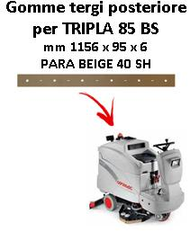 TRIPLA 85 BS Back Squeegee rubber Comac