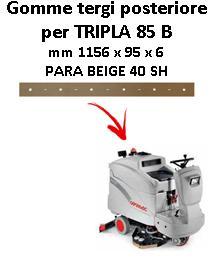 TRIPLA 85 B Back Squeegee rubber Comac