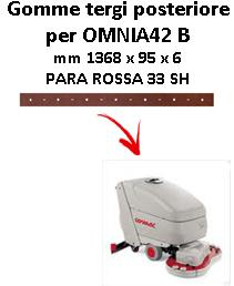 OMNIA 42 B Back Squeegee rubber Comac
