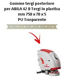 ABILA 2010 42 B  Back Squeegee rubber Comac