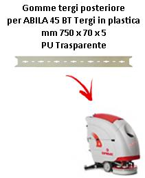 ABILA 2010 45 BT  Back Squeegee rubber Comac