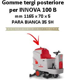 INNOVA 100 B  Back Squeegee rubber Comac