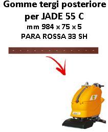 JADE 55 C Back Squeegee rubber Adiatek
