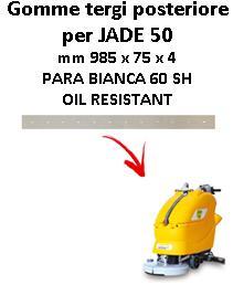 JADE 50 Back Squeegee rubber Adiatek