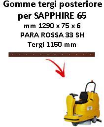 SAPPHIRE 65 Back Squeegee rubber Adiatek
