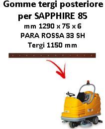 SAPPHIRE 85 Back Squeegee rubber Adiatek