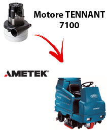 7100 Vacuum motors AMETEK for scrubber dryer TENNANT