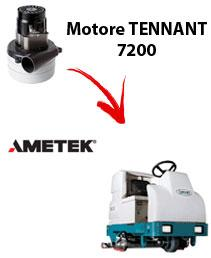 7200 Vacuum motors AMETEK for scrubber dryer TENNANT