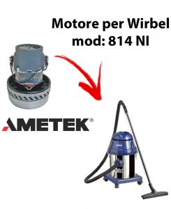 814 NI  Vacuum motor Amatek for wet and dry vacuum cleaner WIRBEL