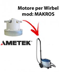 MAKROS  Ametek Vacuum Motor for Vacuum cleaner WIRBEL