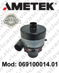 Vacuum motor 069100014.01 AMETEK ITALIA for scrubber dryer