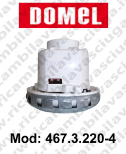 DOMEL Vacuum motor 467.3.220-4 for scrubber dryer and vacuum cleaner