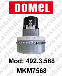 DOMEL Vacuum motor 492.3.568 MKM7568 for scrubber dryer and vacuum cleaner