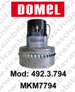 DOMEL Vacuum motor 492.3.794 MKM7794 for scrubber dryer and vacuum cleaner