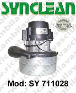 Vacuum motor SY  711028 SYNCLEAN for scrubber dryer and vacuum cleaner