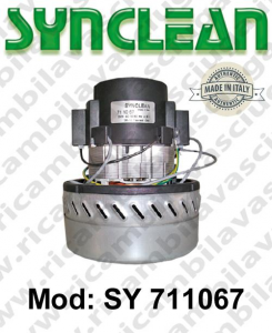 Vacuum motor SY  711067 SYNCLEAN for scrubber dryer and vacuum cleaner